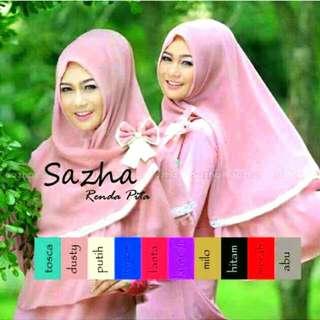 Hijab/Jilbab Khimar Sazha