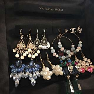 My Exquisite Earrings Collection ( Victoria's Secret Leopard Travel Jewellery Bag) My Exquisite Earrings Collection ( Victoria's Secret Leopard Travel Jewellery Bag)