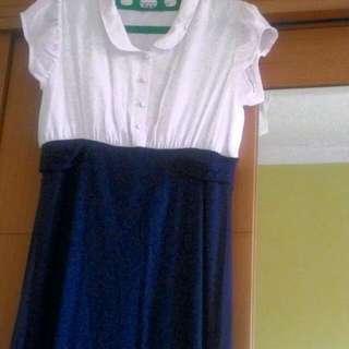 Dress Polos Cantik