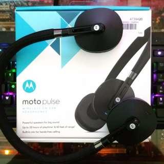 Moto Pulse Wireless Headphone