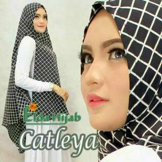 Hijab/Jilbab Khimar Catleya