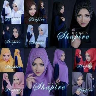 Hijab/Jilbab Khimar Saphire