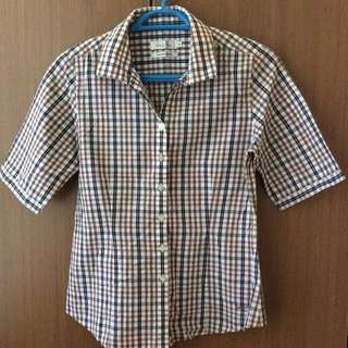 Valentino Rudy Plaid Shirt
