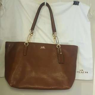 COACH Brown leather Bag Authentic