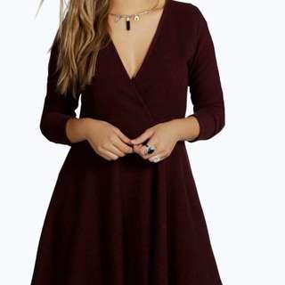 Knitted Skater Dress