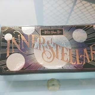 Kat Von D Interstellar Eyeshadow Palette. Genuine