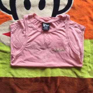 Pink Basic Singlet