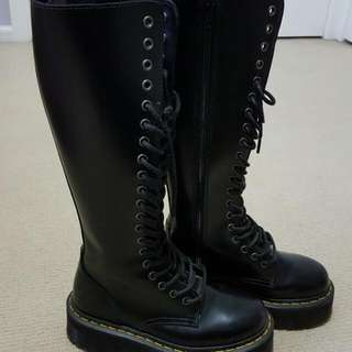 Doc Martens Ladies Knee High Boots