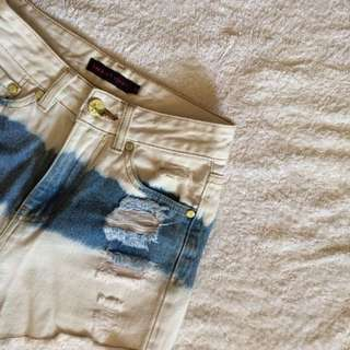 People Are People Ripped Shorts