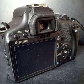 Canon EOs 500D (Body & Lens)