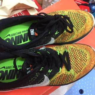 Nike Flyknit Lunar3 80%new100%real
