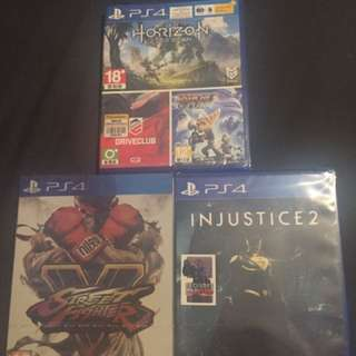 New seal ps4 games