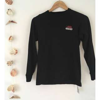 VANS - Nintendo long sleeve