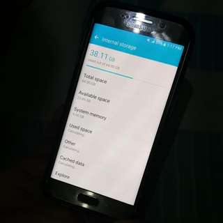 Samsung Galaxy S6 Edge 64 Gig