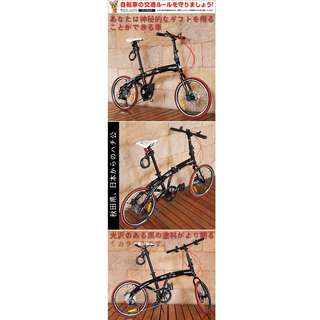 "Hachiko 20"" foldable bicycle x 2"