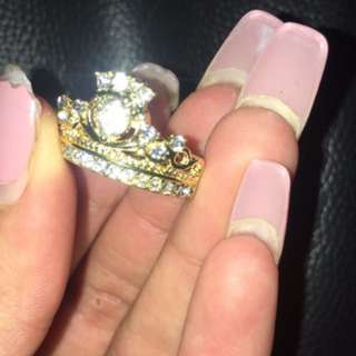 Royal Style Gold Ring