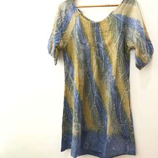 Dress Batik merk : Rumah Soga