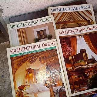 Architectural Digest Books