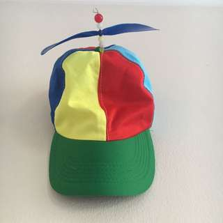 ‼️ Rainbow Propeller Cap