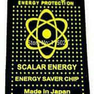 EMR Scalar Energy Sticker