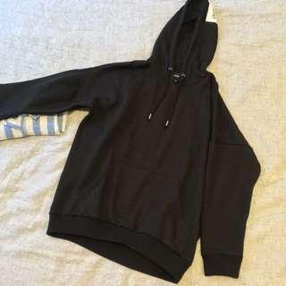 Simple Black Hoodie