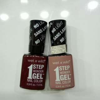 Wet N Wild Wonder Gel Nail Polish