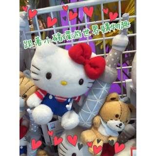 Oo跟著小豬環遊世界購物趣oO日本連線-SKYTREE 晴空塔限定 Hello Kitty 凱蒂貓 小熊 愛心 蝴蝶結