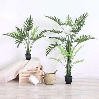 PO Philodendron Xanadu Artificial Plant