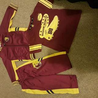 Brisbane Broncos Tracksuit And Tee