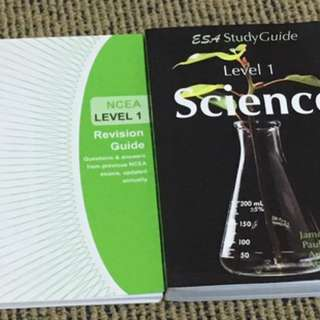 Level 1 Science Textbook And Revision Book