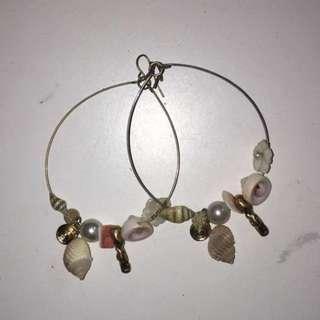 Shell Hoop Earrings