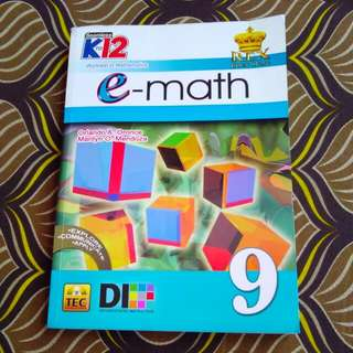 FREE SHIPPING! Grade 9 E-Math