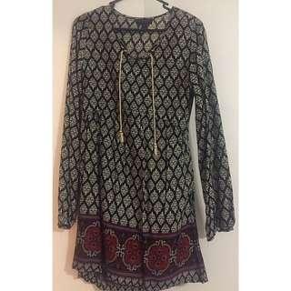Aztec Rose Dress