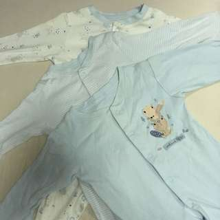 Mothercare Baby Sleepsuits