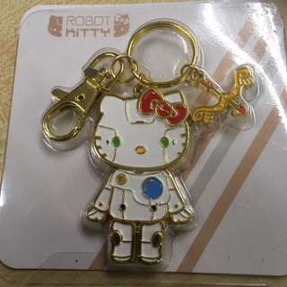 Hello Kitty Key Chain (robot Kitty)