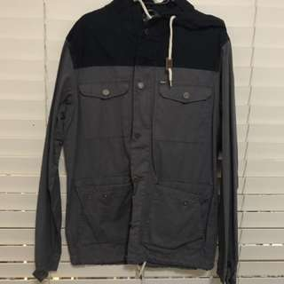 Navy And Grey Jacket