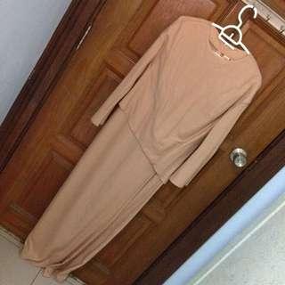 💞Preloved Uniqlo HT ORIGINAL Dress