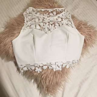 Detailed Crop Top