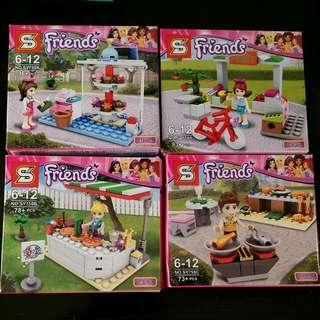 Lego Friends Stall