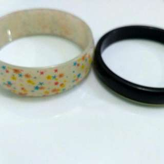 Gelang White And Black