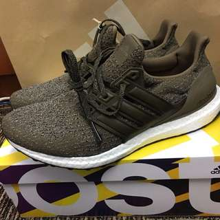 Adidas UltraBoost Trace Olive (Leather Caged)