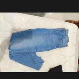 Size 14 Ripped Knee Skinny Jeans