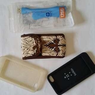 2 Silicon Case Untuk Ipod 5 Dan Bonusnya