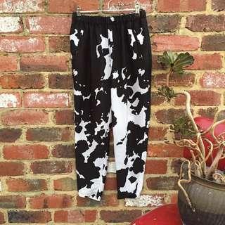 Cow Print Zara Pants