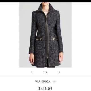 Spiga Long Coat Size 2