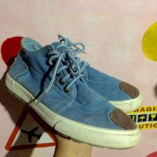 Denim Hi-cut Converse Insired Shoes