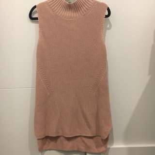 French Connection Pink Knit Top