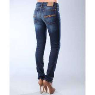 Nudie Size 10 Blue Jeans Slightly Distressed