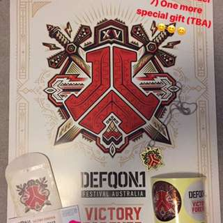 DEFQON1 HARDCOPY TICKETS!! $170