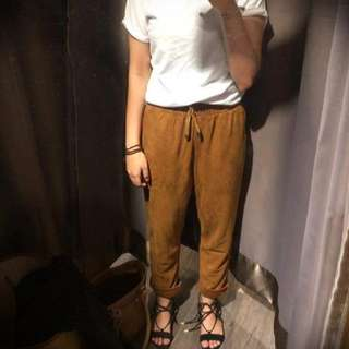 Brown Coudroy Pants